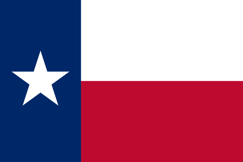 43ab49535b3 State flags over Texas