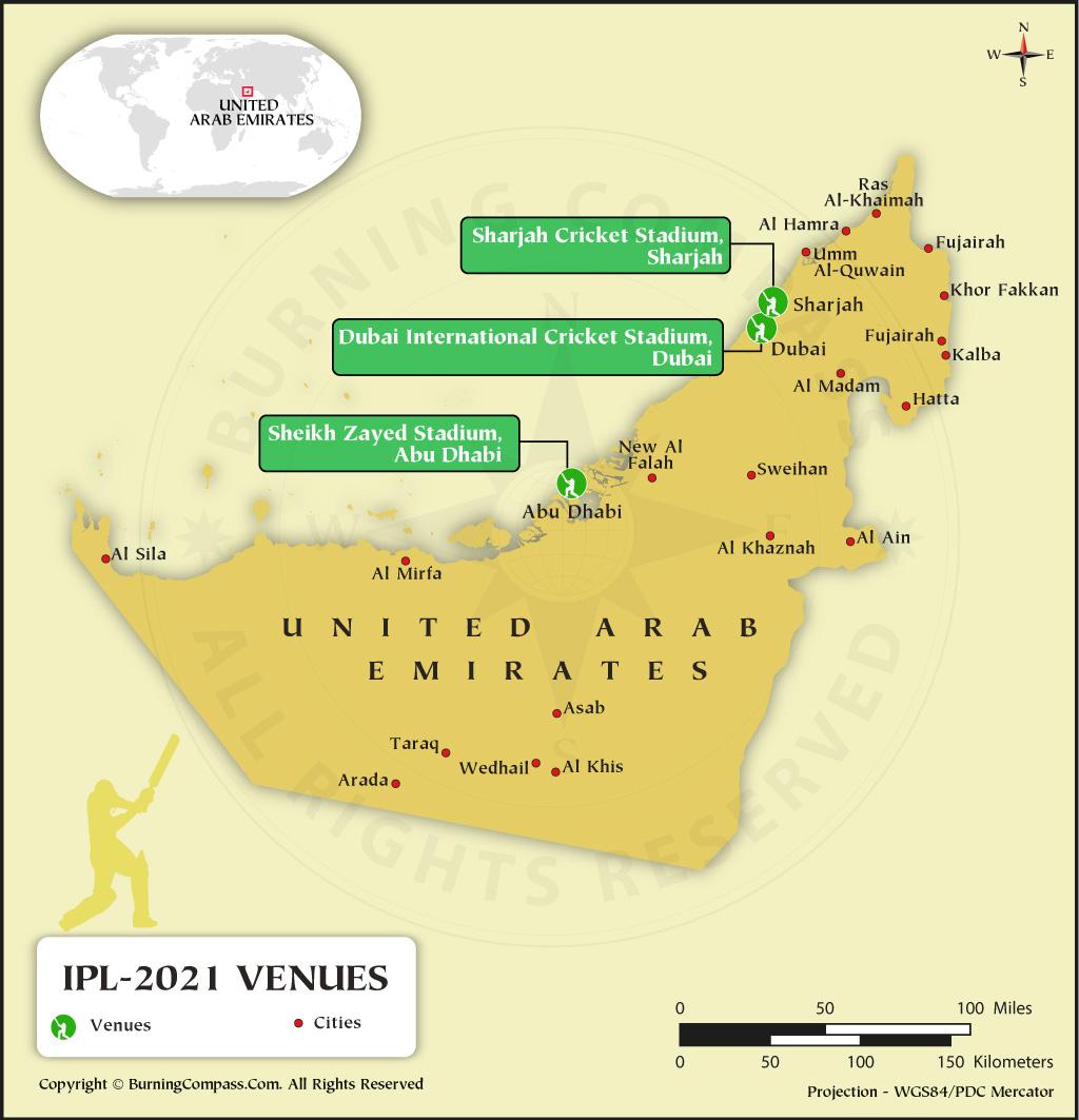 IPL 2021 Venue